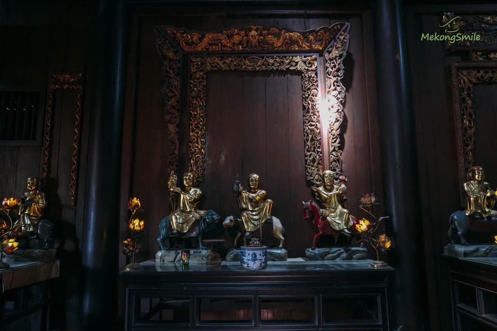 Tượng La Hán chùa Vĩnh Tràng Mỹ Tho Tiền Giang