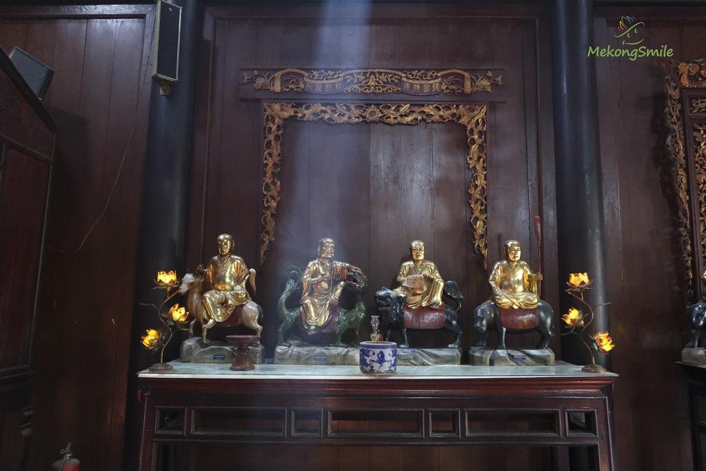 Tượng La Hán chùa Vĩnh Tràng Tiền Giang