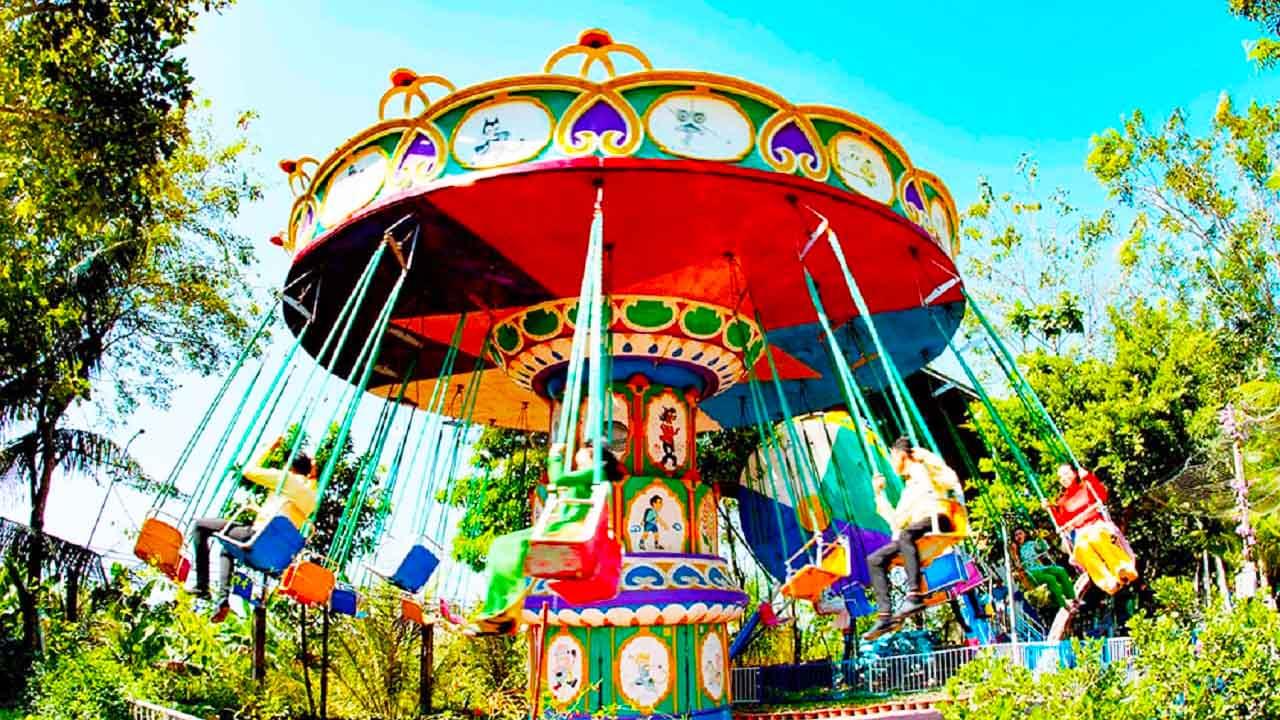 Trò chơi ở Khu du lịch Vạn Hương Mai